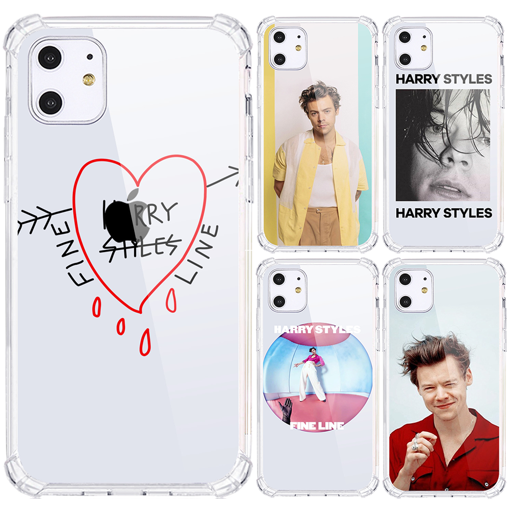 <span class=keywords><strong>Harry</strong></span> stil Hohe Qualität für iPhone 12 11 pro max silikon transparent TPU Handy fall für iPhone 6 7 8 2020