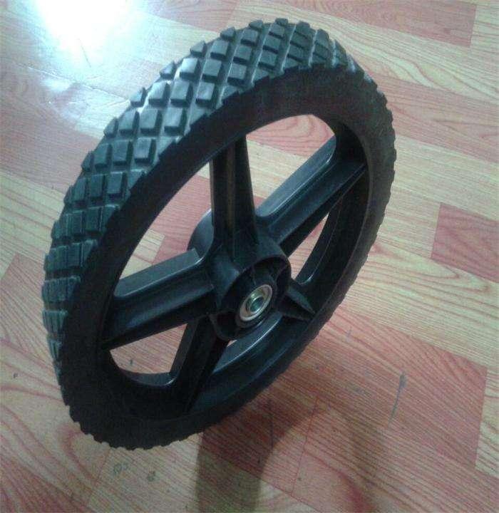 400mm puncture proof Trolley//wheelbarrow wheel run flat wheels Heavy duty