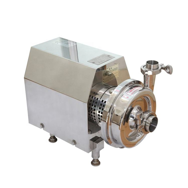 stainless steel centrifugal pump horizontal centrifugal water pump sanitary centrifugal pump 5 hp