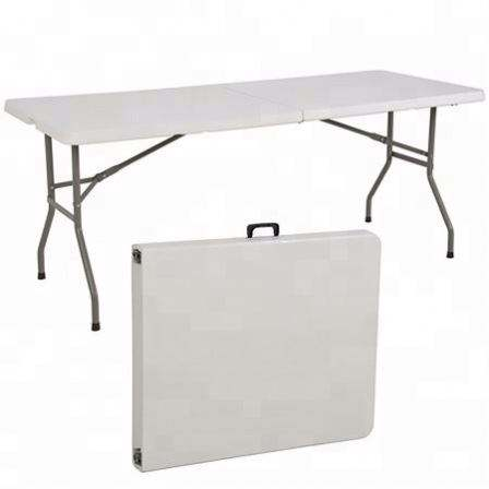 Plastic Folding Table, Hot Sale Outdoor Popular HDPE Plastic Folding Picnic Dining Table