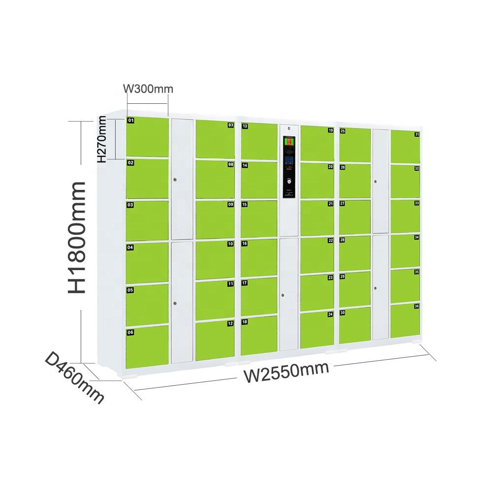 Economical And Applicable Bar Code Electronic Lockers