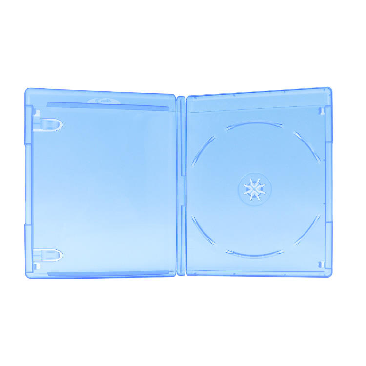 Original Amaray 14mm Double Digi Tray CD DVD Blue Blu-ray Box