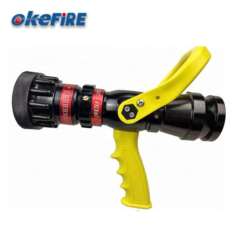 OKEFIRE Recoilless Fire Water Pistol Grip Adjust Flow Nozzle Gun