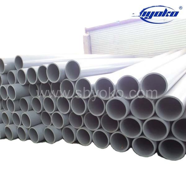 Custom high quality 2.5 inch pvc pipe water supply pipe system high quality