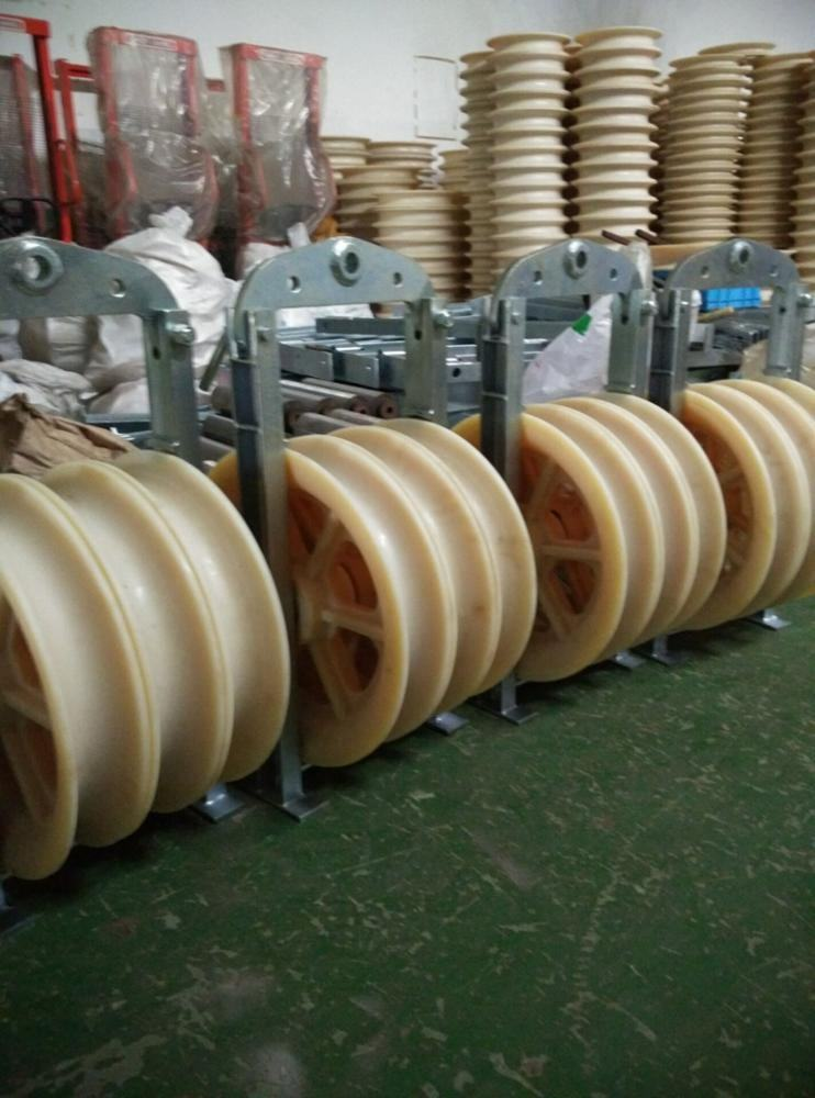 Stringing Block Nylon Sheave Cable Pulley Block