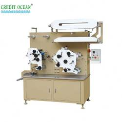 COR-42S Flexo label printing machine for garment wash care labels
