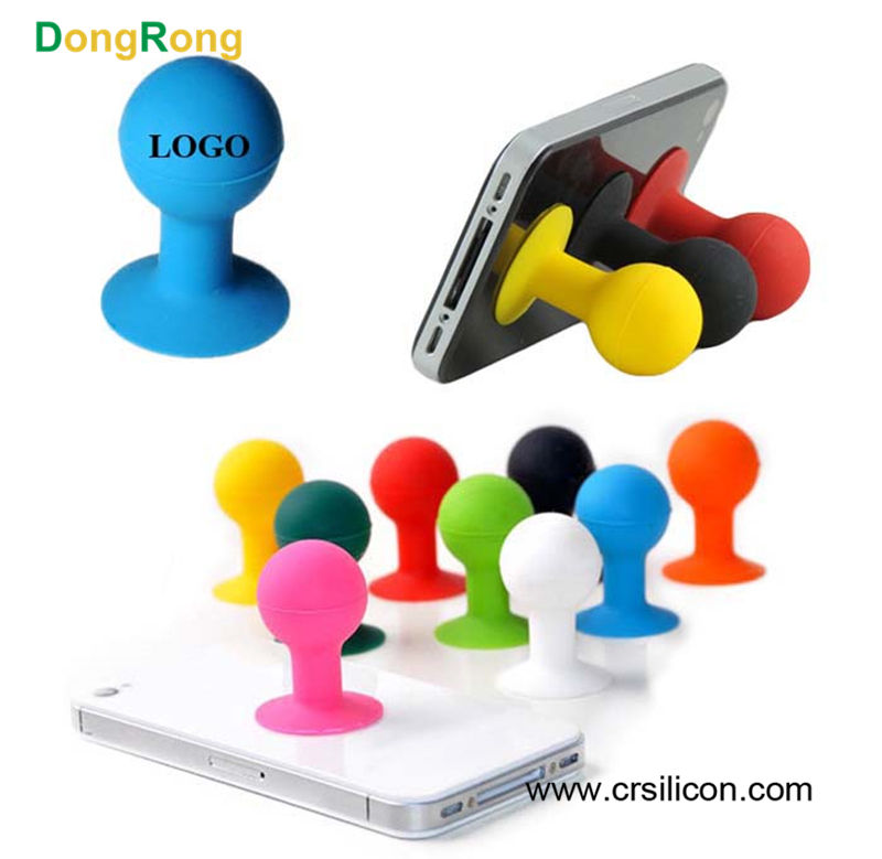 Factory multifunctional hot different interesting designs silicone sucker cellphone stand holder,mobile phone stand for phones