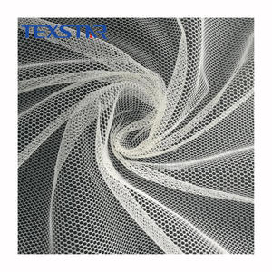 Fashion 100% polyester mosquito net soft mesh fabric for dress