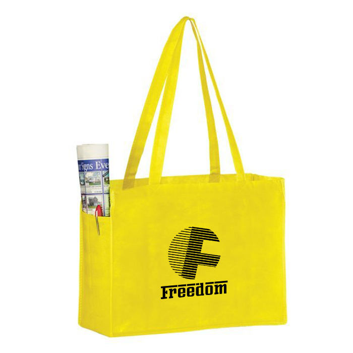 Promotional Custom Printed Handle PE Shopping Bag For Packaging