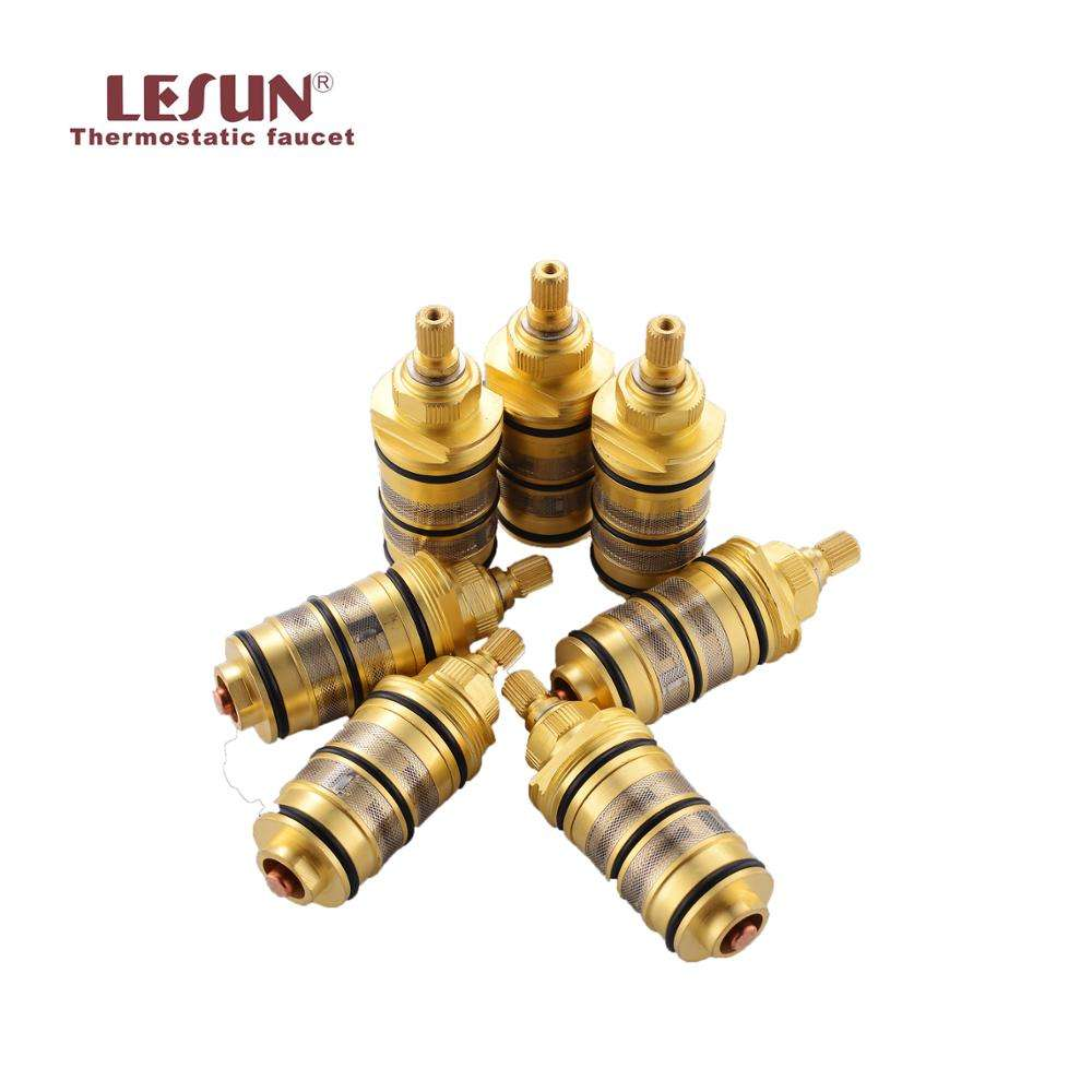 LESUN hot selling brass thermostatic shower faucet mixer cartridge