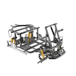 Manufacture Scooter Main Atv Frame For Atv Sale
