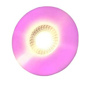 New hot slim color led round panel light 8+8W ceiling spot light