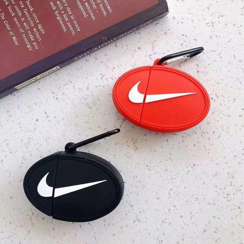 Case for Airpods 1 2 Protective Fashion Cute Brand Design for Nike Puma Anti-Lost Cover for Airpods Pro Headphone Charging Box