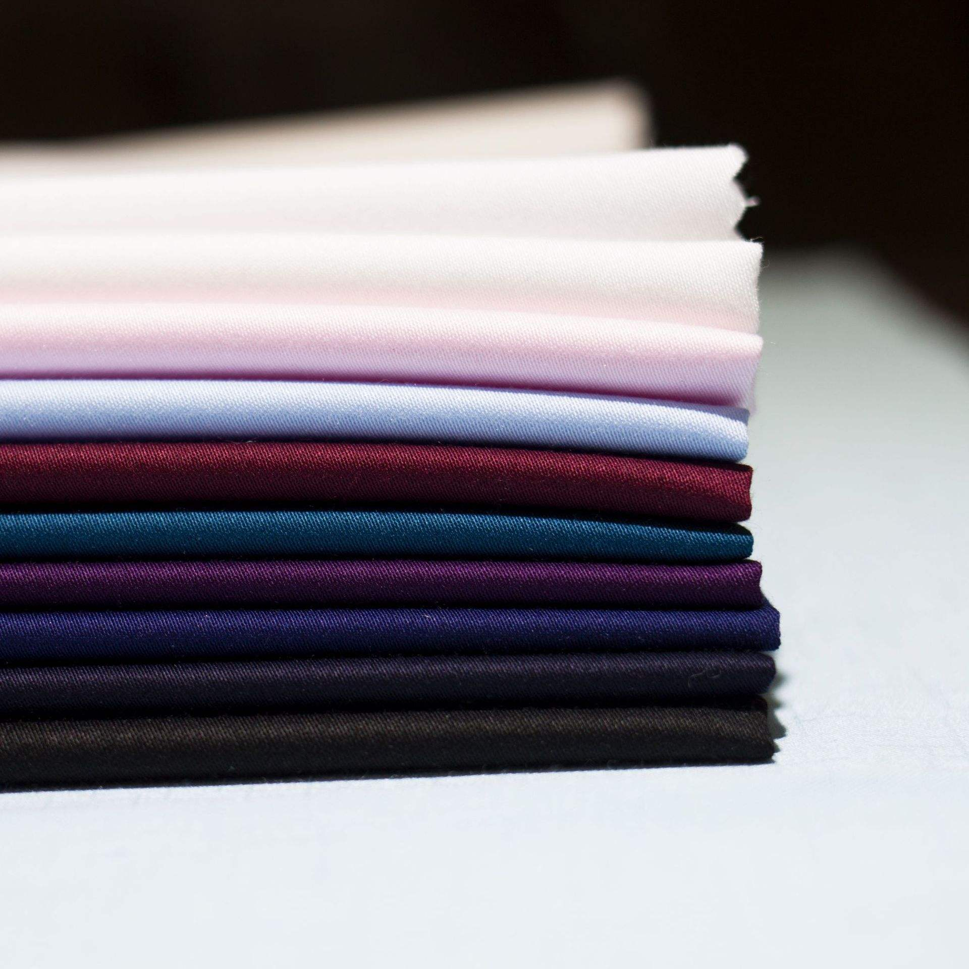 shirt fabric 49%bamboo fiber 49%Polyester 2%spandex satin weave shirt cloth woven Fabric