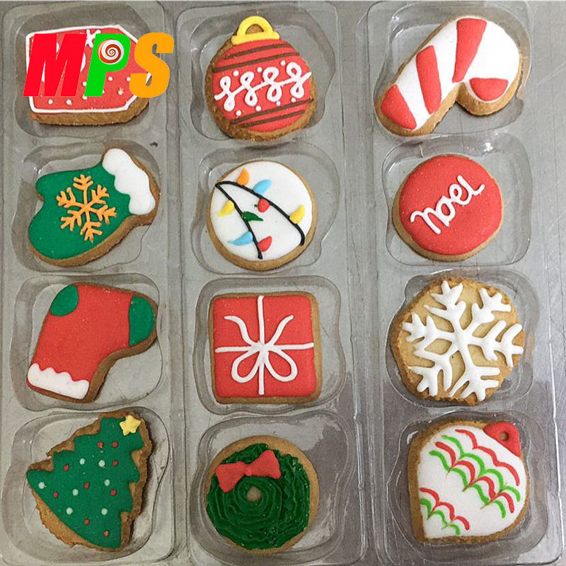 Delicious Kid Snacks Chocolate Assorted Halal Cookies Wholesale Christmas butter Cookies biscuits