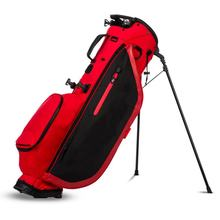 2019 Red/Black Custom  Waterproof Durable Golf Stand Bag with Stand Leg