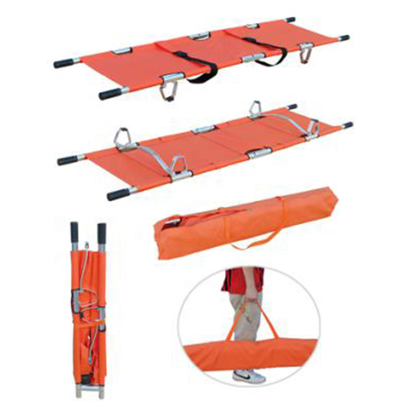 Hospital Bed Emergency Ambulance Transfer Stretcher For Patient