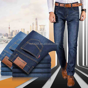 Good quality stretch jeans for men factory Supply Quick Dry Breathable men's Jeans denim