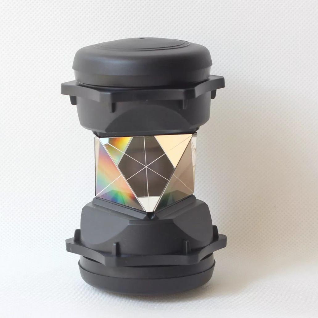 Total Station Reflector Leica style or 5//8 Topcon/&Sokkia Style 360 Degree Prism
