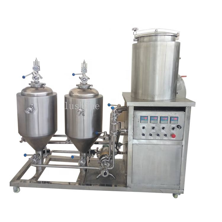 100L Brewery Machinery Brewing System Ale Beer Brewing Equipment For Home