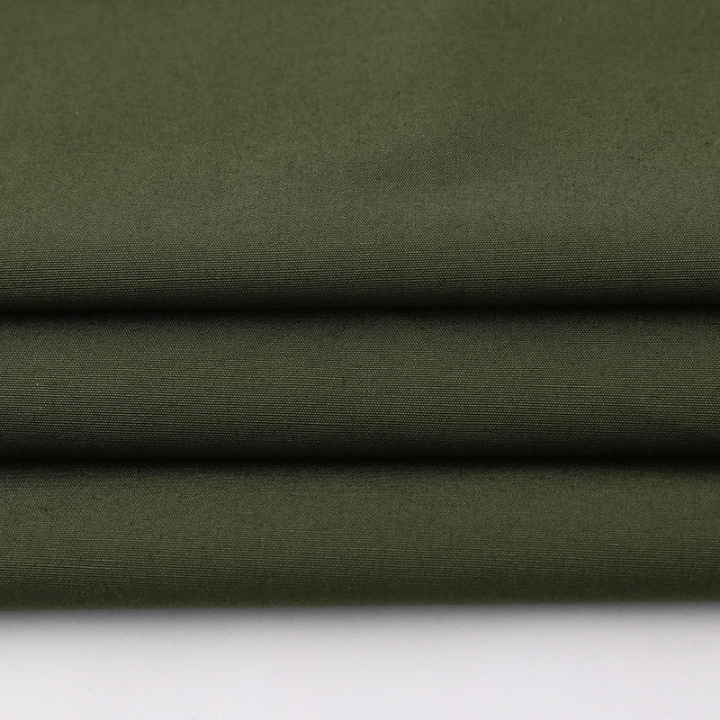 150D*21S ripstop polyester cotton fabric 50 polyester 50 cotton fabric is used for autumn and winter clothing fabrics
