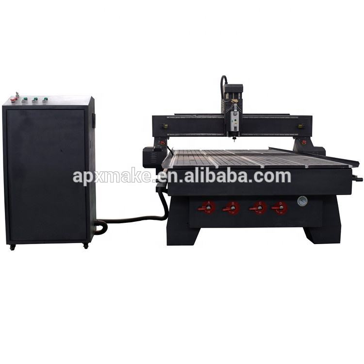 Proveedor de China al por mayor de enfriamiento de aire husillo máquina de talla de madera enrutador cnc para trabajar la madera
