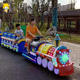 Amusement Park Shopping Mall Kid Ride On Radar Sensors Electric Battery Powered Mini Trackless Train