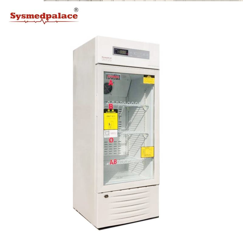 Sysmedical Medical refrigerator blood bank equipments manufacturers new product 4c blood bank refrigerator