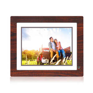 Wall mounted Digital Photo Frame 9 Inch LCD Media Advertising Player with Loop Videos