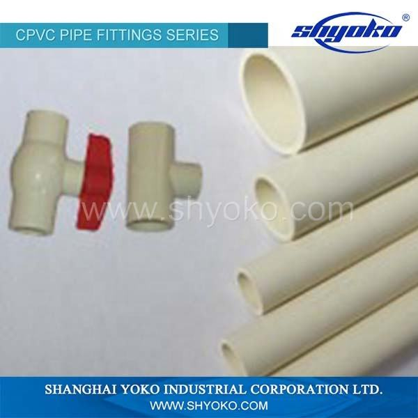 Factory Supply Plastic Pipe ASTM D 2846 SDR11 CPVC Pipe for hot water