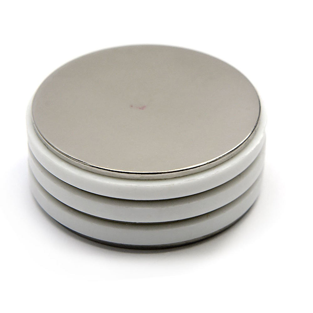 wholesale round wheel disc sheet radial magnetized n52 ndfeb neodymium magnet factory for magnet bags sale