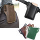 Hot Sale PU leather universal phone sleeve with belt holder carry-on cell phone pouch