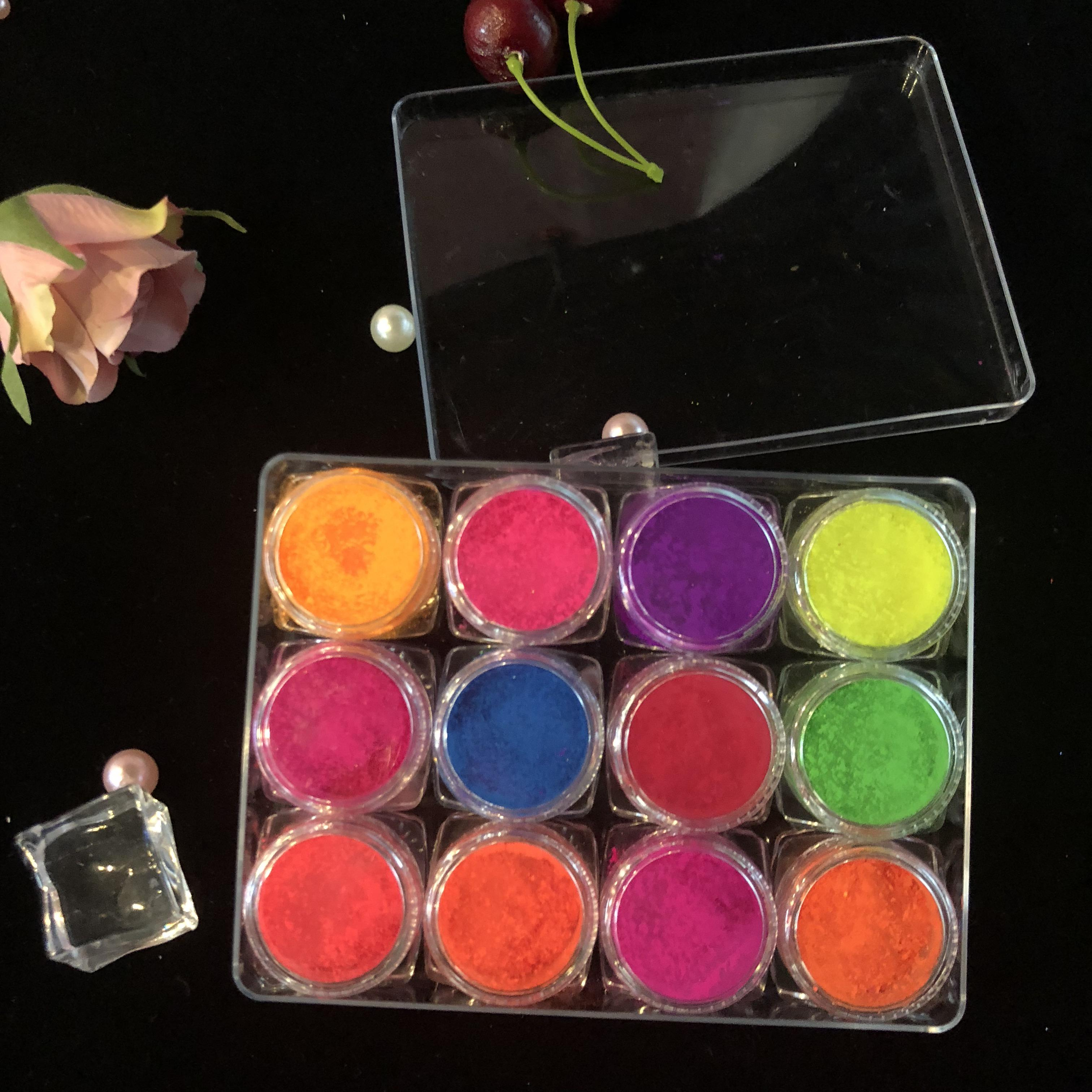 Groothandel Private Label 12 Kleur Oogschaduw Pigment Losse Poeder Make-Up Set