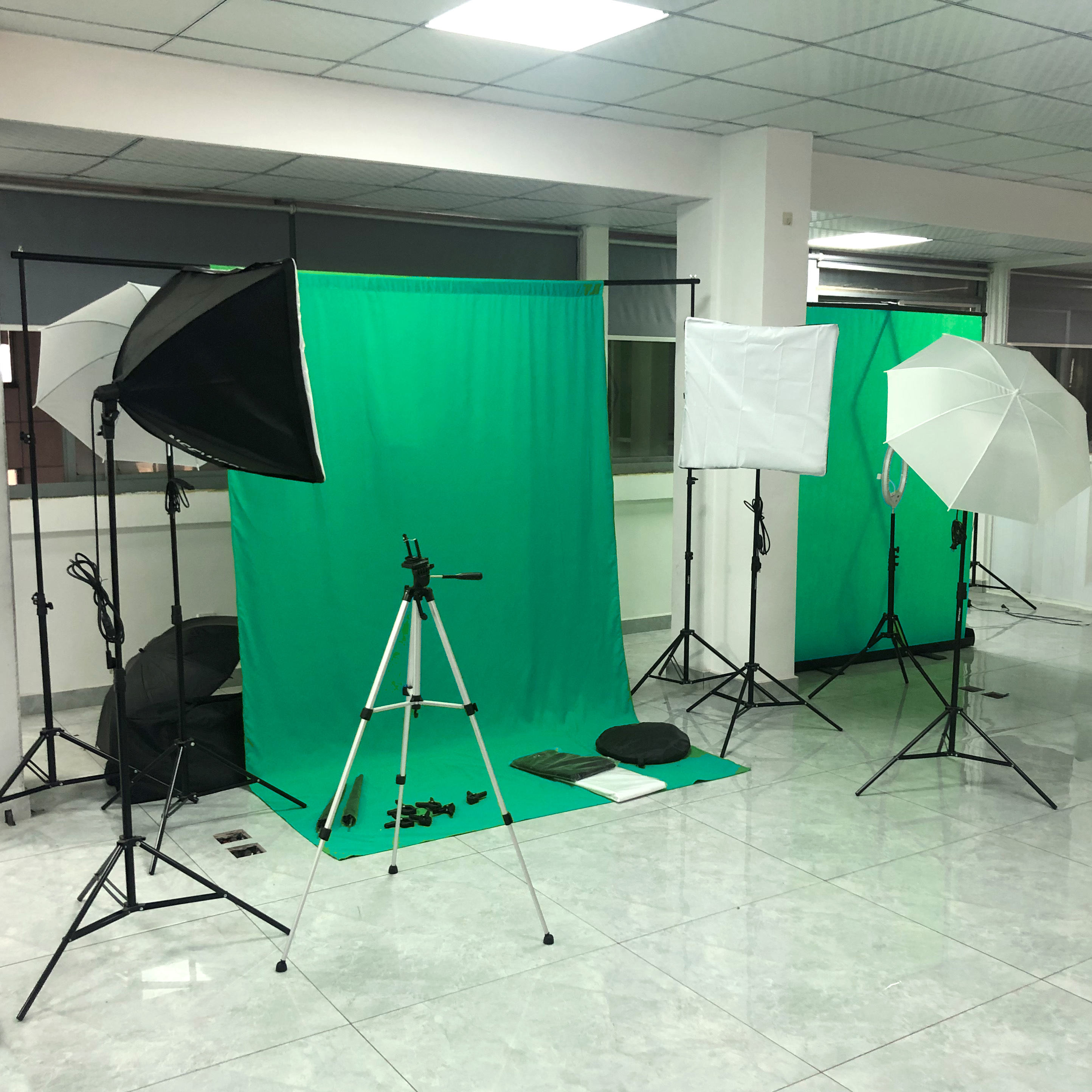 3mx3m photography equipment green screen cloth fabric Photo Photography Backdrop Background Cloth