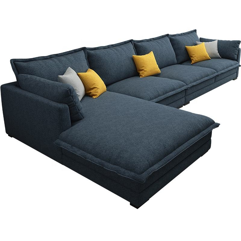 Contemporary Oversized Sectional Sofa Miracle Home Furniture Living Room Customized L Shaped Fabric Corner Sofa Couch