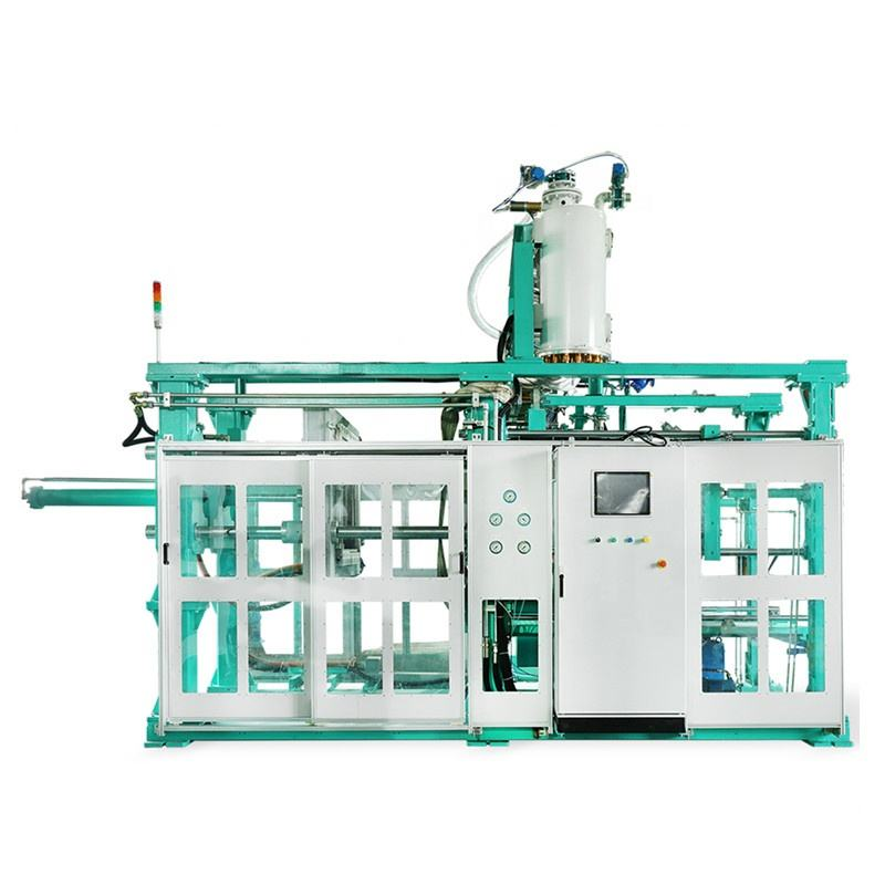 Automatic Eps Polystyrene Styrofoam Containers Moulding Machine For Electrical Packaging Box