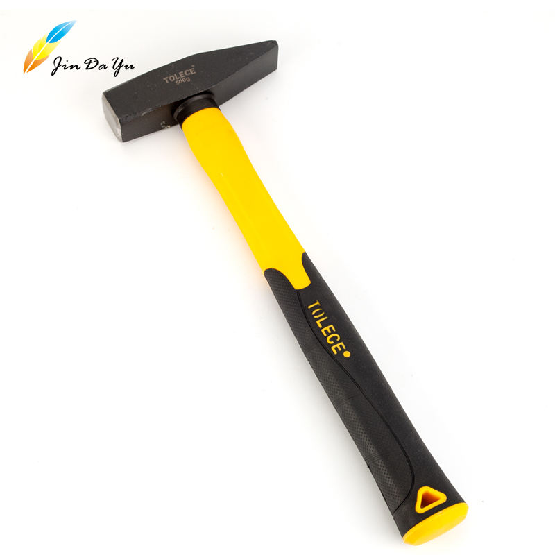 Professional Carbon Steel 200-500g Roofing Hammer Tack Hammer With fiberglass Handle