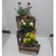 Wholesale Indoor Wooden Adjustable Plant Stand for Flower Green Plant Pot