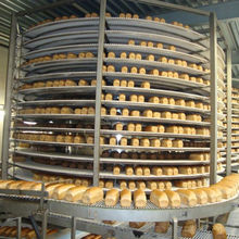 Bread Screw Spiral Conveyor For The Bakery