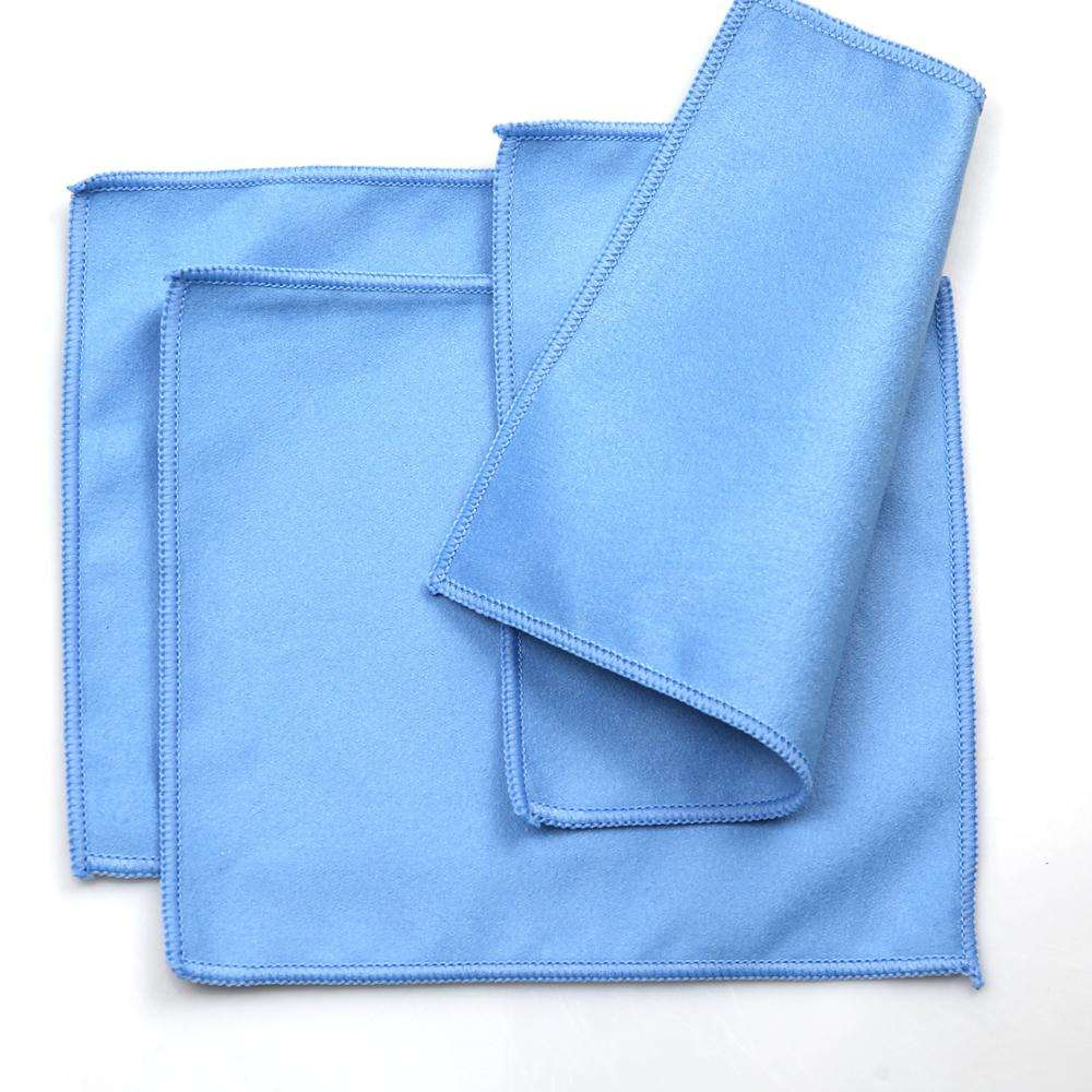 super soft microfiber suede towel glasses cleaning cloth eyeglass lens cleaning cloth