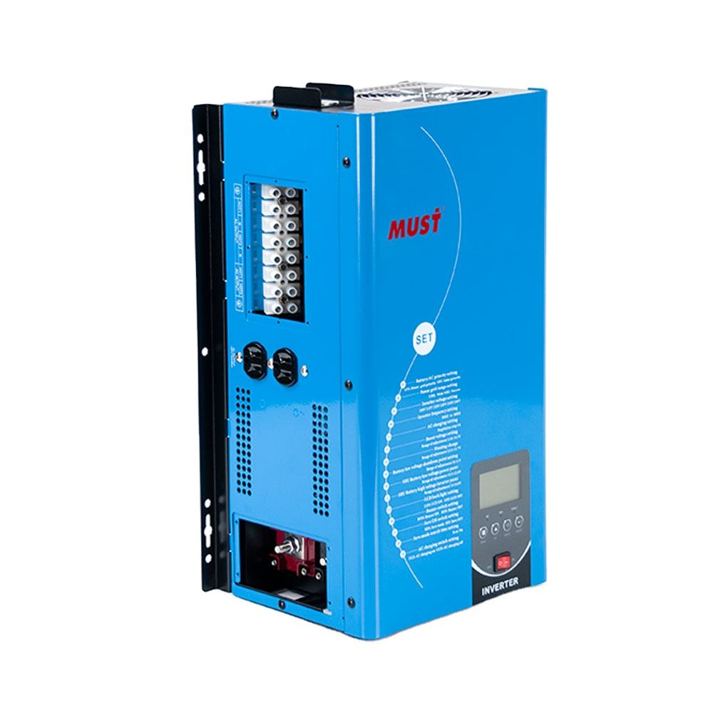 MUST EP33TLV series 1kw 1.5kw 2kw 3kw 4kw 5kw 6kw 48v for USA split phase low frequency pure sine wave power inverter