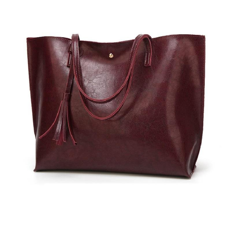 High quality leather handbag 2020 new style women genuine shoulder bag pars for ladies fashion