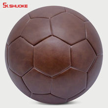 customize football ball PU thermal bonded soccer ball size 5 standard for match/train