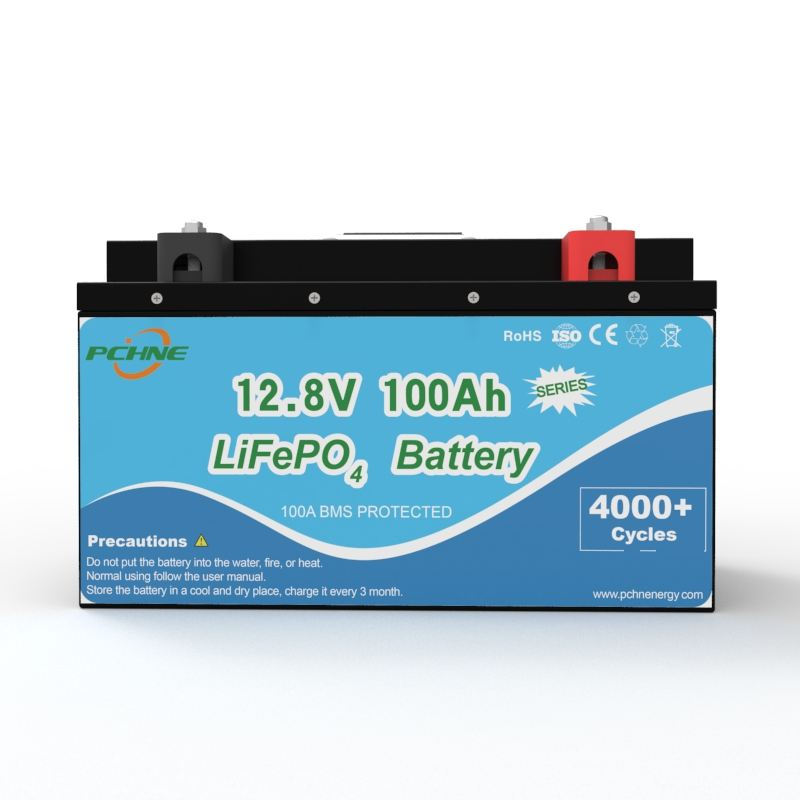 12V 100Ah LiFePO4 rechargeable lithium iron phosphate battery for UPS Uninterrupted Power Supply