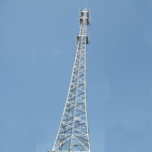 4 legs galvanized angel steel lattice telecom mobile telecommunication tower
