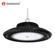 Romanso New Design IP65 130lm/w LED High Bay UFO Light 80w 100w 150w 200w 250w HighBay Workshop Light ufo high bay light fixture