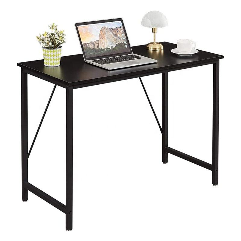 High Quality Simple Computer Minimalist Bamboo Home White Lobby Furniture Classic Table Desk Office