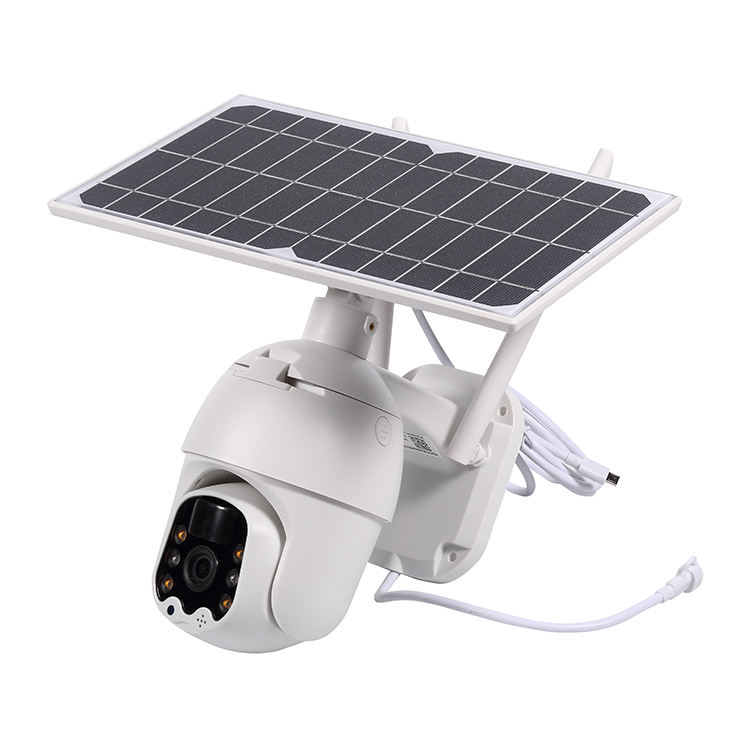 Support TF Card Outdoor IP66 Waterproof 1080P 4g Rotate Camera Security Surveillance 4g Solar Wifi Camera