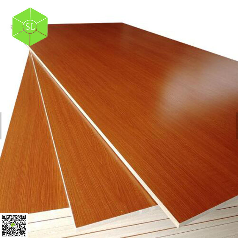 2019 Linyi Wholesale Furniture Grade Board Melamine MDF