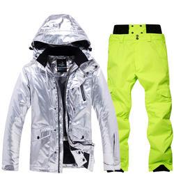 Factory Wholesale snowboard jacket women Designer Ski Suit Womens snowboard jacket OEM available Ski suit for men women